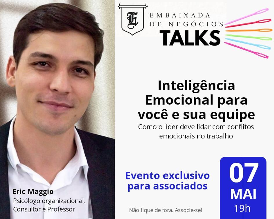Embaixada TALKS – 07/MAI/19
