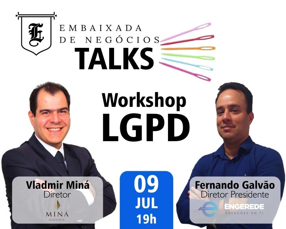 Embaixada TALKS – 09/JUL/19